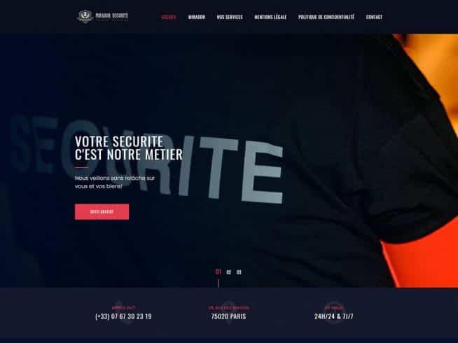 site internet sécurité privée privée