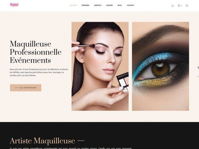 site web maquilleuse